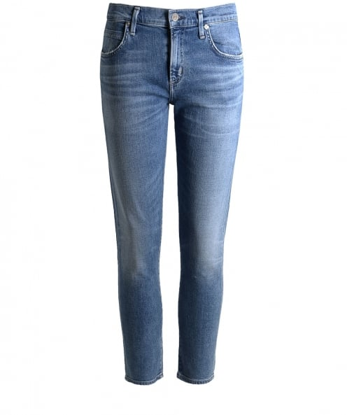 Citizens of Humanity Mid Rise Elsa Cropped Jeans