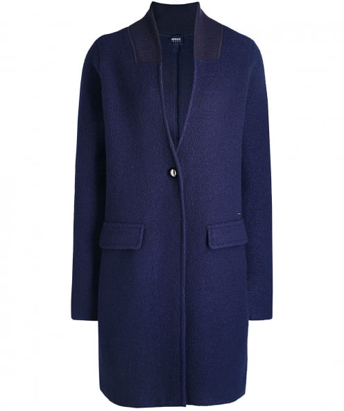 Armani Jeans Oversized Wool Coat