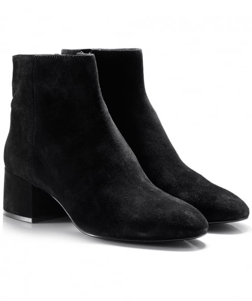 Ash Suede Dragon Ankle Boots