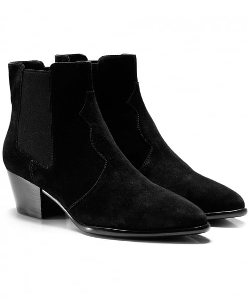 Ash Suede Holly Ankle Boots