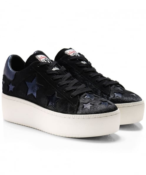 Ash Pony Hair Cult Star Trainers