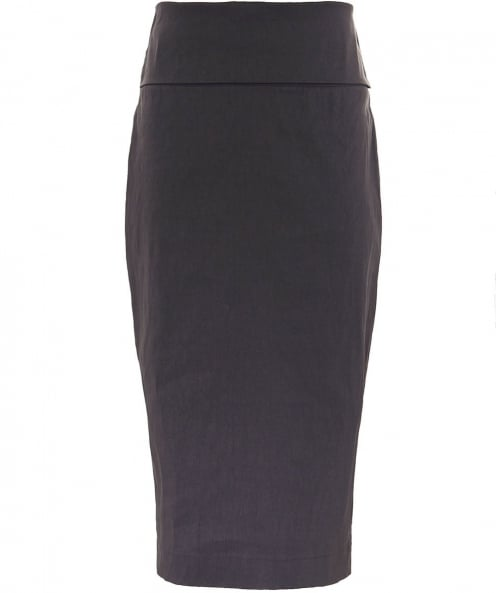 Crea Concept Linen Pencil Skirt