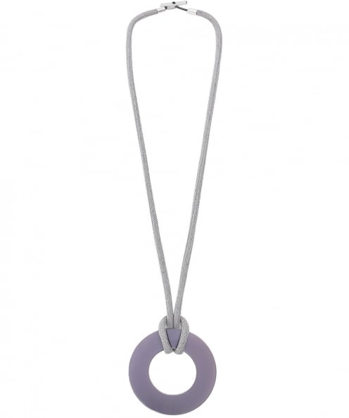 Christina Brampti Long Rope Circle Necklace