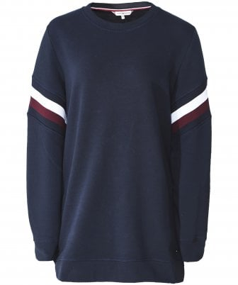 bb3a5bc2 Julie Colour Blocked Sweatshirt. Tommy Hilfiger Julie Colour Blocked  Sweatshirt
