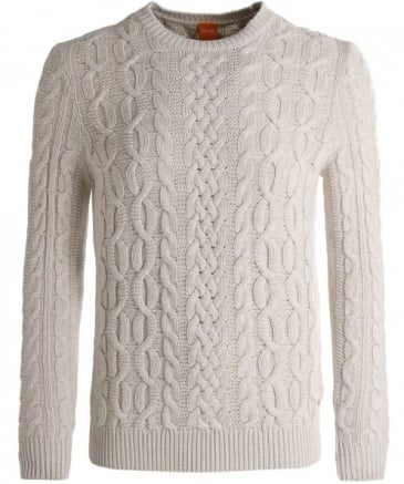 Wool Kaasly Cable Knit Jumper