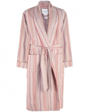 Cotton Striped Robe