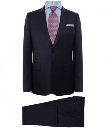 Tailored Fit Wool Suit