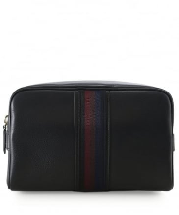 Leather City Webbing Wash Bag