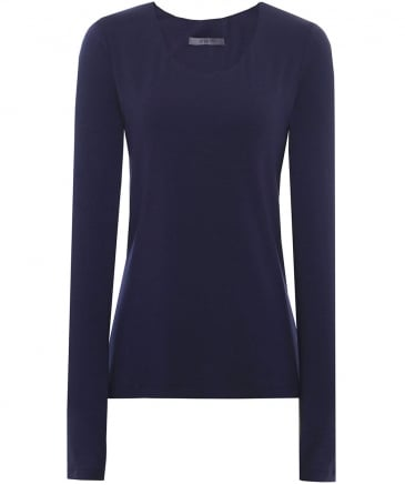 Basic Jersey Long Sleeve Top
