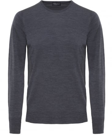 Merino Wool Crew Neck Marcus Jumper