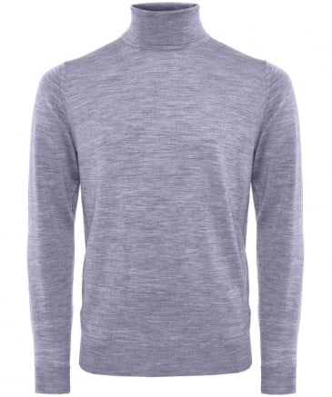 Merino Wool Roll Neck Belvoir Jumper