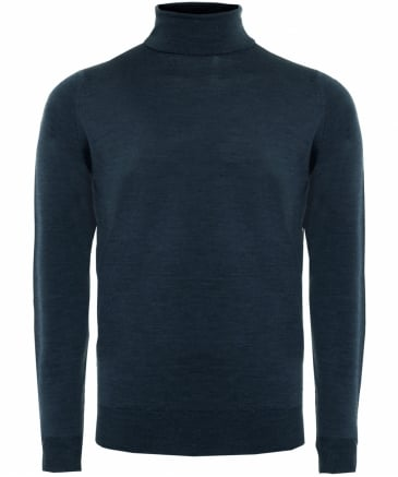 Merino Wool Roll Neck Cherwell Jumper