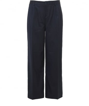 Reanna Pinstripe Cropped Trousers
