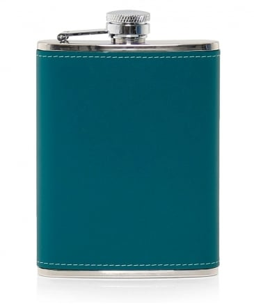 Leather Bound 6oz Hip Flask
