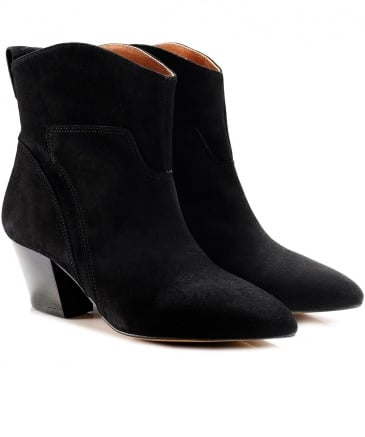 Suede Karyn Ankle Boots