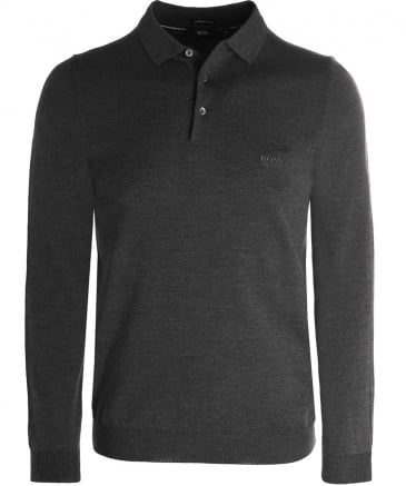 Wool Bono-L Long Sleeve Polo Shirt