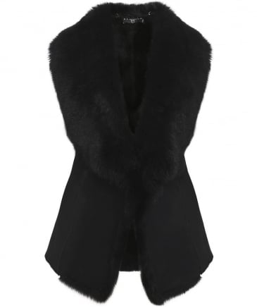 Sheepskin Waterfall Gilet