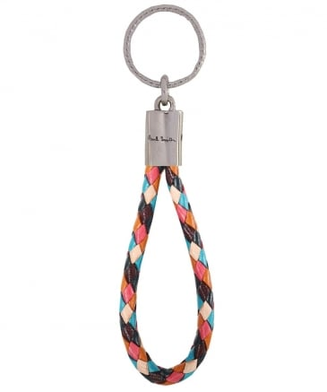 Leather Loop Keyring
