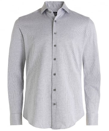 Slim Fit Dogtooth Shirt
