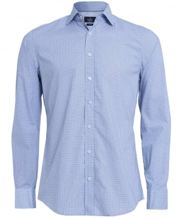 Slim Fit Gingham Zephir Shirt