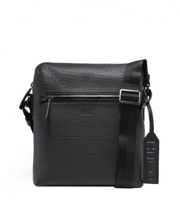 Leather Victorian_NS Zip Messenger Bag