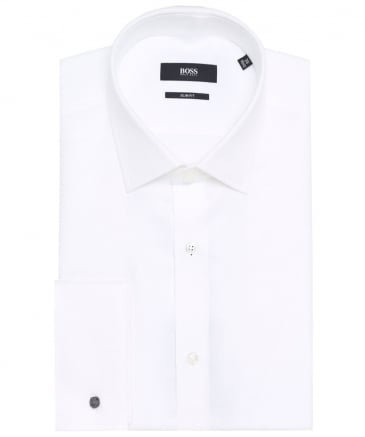 Slim Fit Textured Jacques Shirt