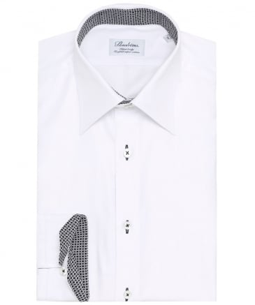 Fitted Body Hexagon Trim Shirt