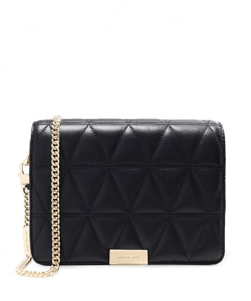 Quilted Leather Clutch Bag