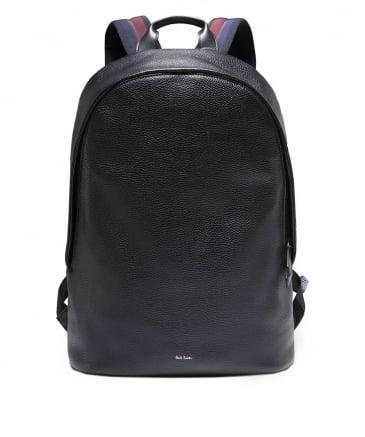 Leather City Webbing Backpack