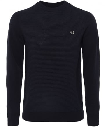 Textured Wool Blend Jumper