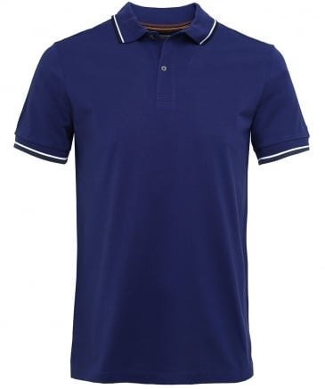 Tipped Cotton Pique Polo Shirt