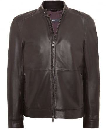 Leather Norbas Jacket