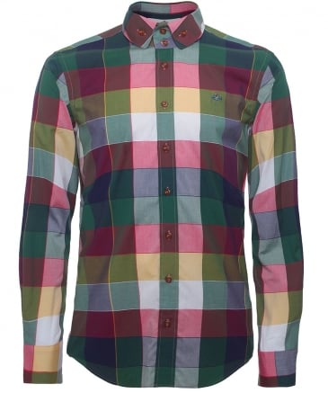 Two Button Gingham Krall Shirt