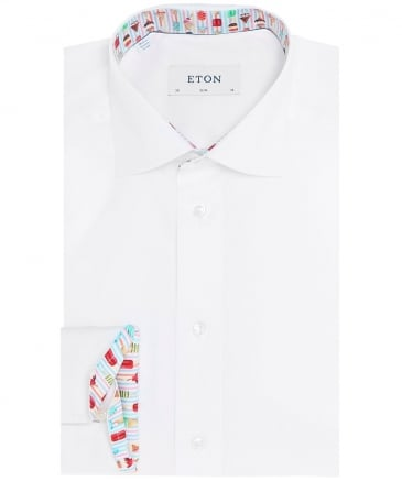 Slim Fit Ice Lolly Trim Shirt