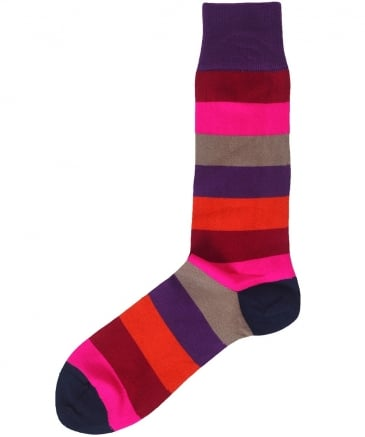 Striped Buxton Socks