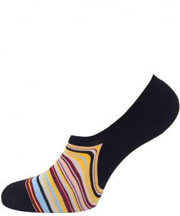 Signature Stripe Loafer Socks