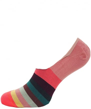 Artist Stripe Loafer Socks