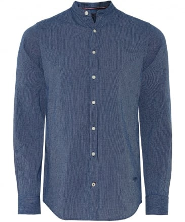Slim Fit Fine Stripe Shirt