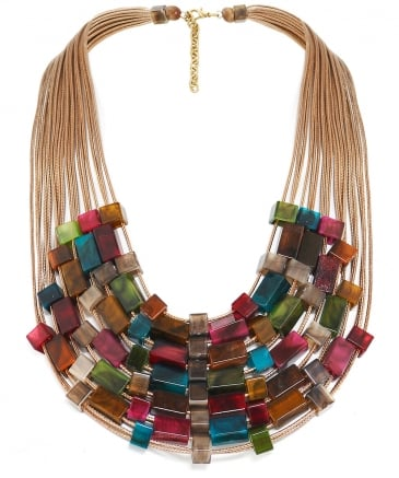 Beaded Chord Necklace
