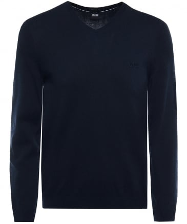 V-Neck Cotton Pacello-L Jumper