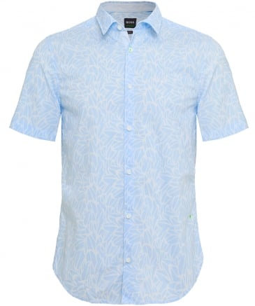 Slim Fit Short Sleeve Brodi_S Floral Shirt
