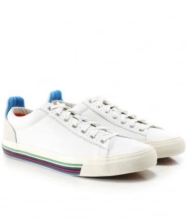 Faux Leather Hooper Trainers