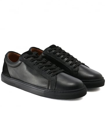 Leather Hamilton Trainers