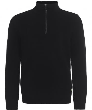 Textured Half-Zip Zoki Jumper