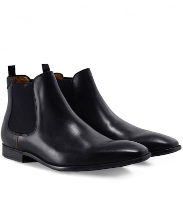 Leather Falconer Chelsea Boots