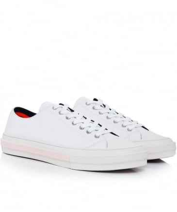 Leather Mono Luxe Kinsey Trainers