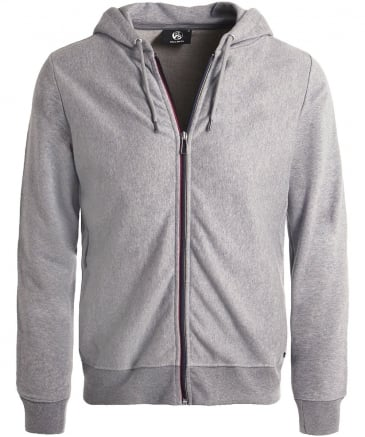 Zip-Through Jersey Hoodie