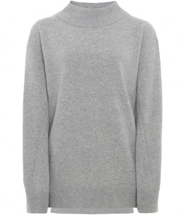 Cashmere Ace Roll Neck Jumper