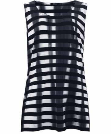 Dag Stripe Sleeveless Top