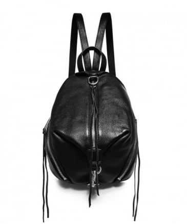 Pebbled Leather Medium Julian Backpack